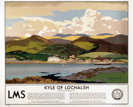 'Kyle of Lochalsh', LMS poster, 1923-1947.