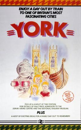 'York', BR poster, 1987.