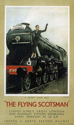 'The Flying Scotsman', LNER poster, c 1935.