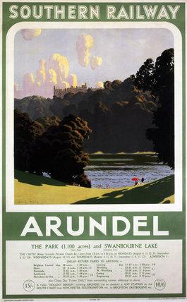 'Arundel', SR poster, 1932.