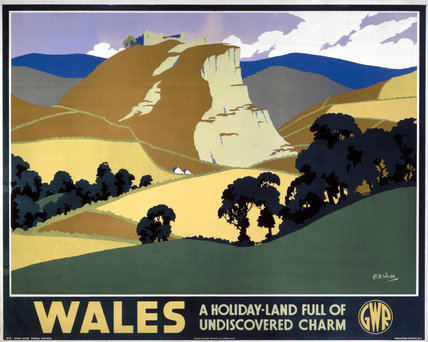 'Wales', GWR poster, 1935.