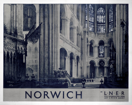 'Norwich', LNER poster, 1923-1947.