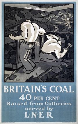 'Britain's Coal', LNER poster, 1923-1948.