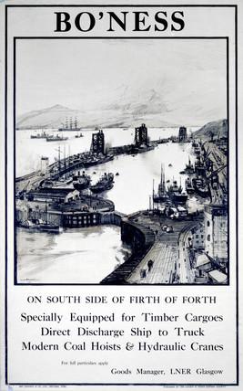 'Bo'nes', LNER poster, 1923-1947.