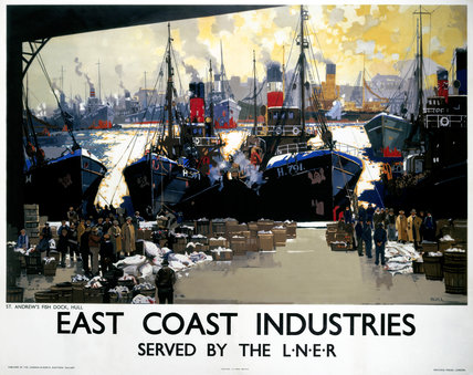 'East Coast Industries', LNER poster, c 1938.