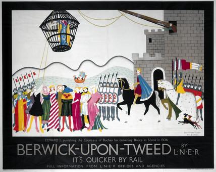'Berwick-upon-Tweed', LNER poster, 1930.