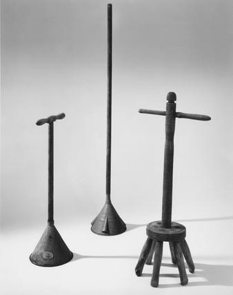 Washing dollies, c 1550-c 1780.