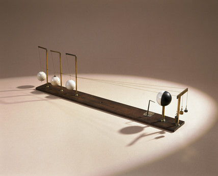 Apparatus to demonstrate tidal motion, 1762.