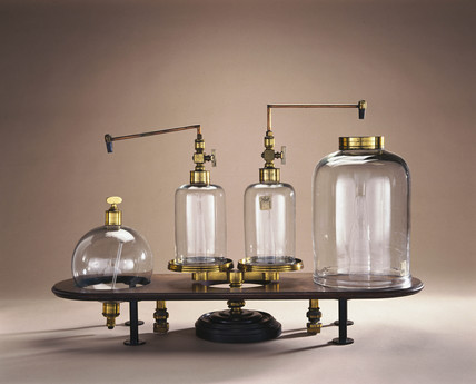 Apparatus for comparing airs, 1761.
