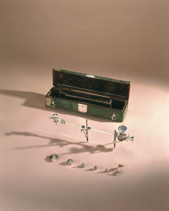 Volute compas, late 18th century.
