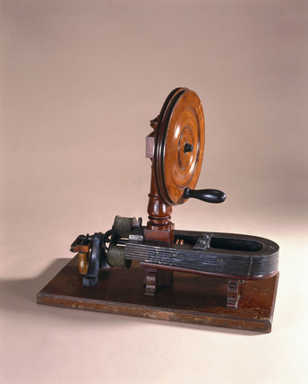 Saxton's magneto-electric machine, 1833-1857.