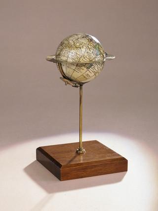 Terrestrial globe, 1754.