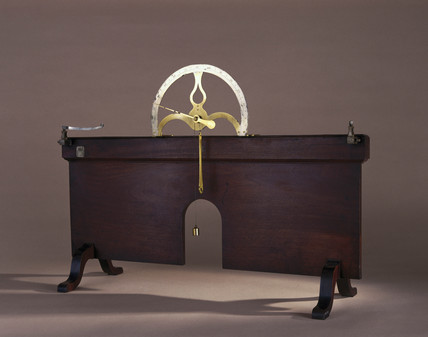 Apparatus for demonstrating the elasticity of a spring or wire, 1762.
