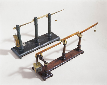 Compound levers, c 1750.