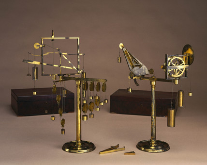 Mechanical powers apparatus, 1775.