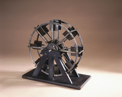 Feathered paddle wheel, 1830.
