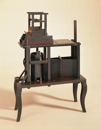 Model of a corn mill, 1753.