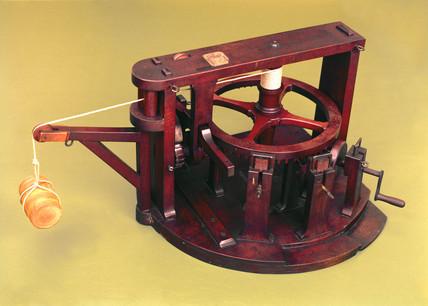 James Ferguson's crane, 1764-1776.