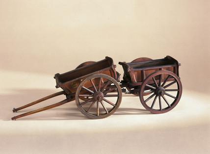 Four wheeled wagon, 1751.
