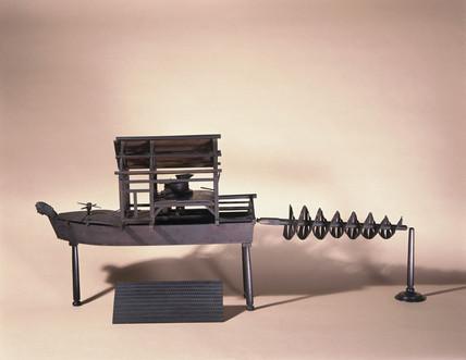 Model 'Comet' corn mill, 1753.