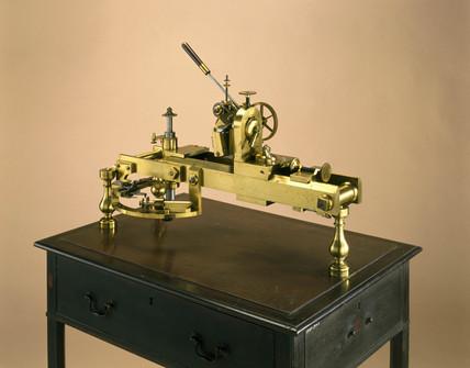 Wheel cutting engine, 1770s.