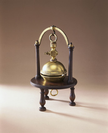 Magdeburg hemispheres, 1761.