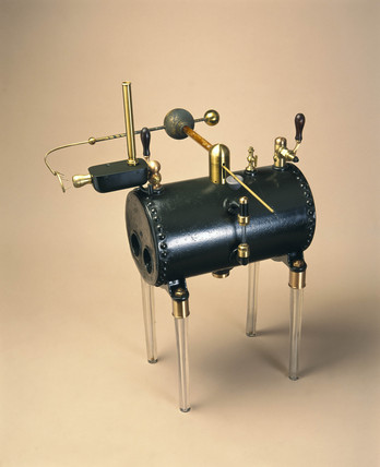 Armstrong's hydro-electric machine, 1845.