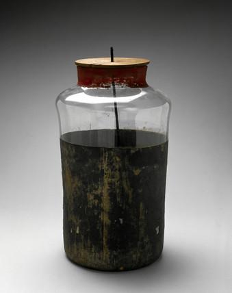 Leyden jar, c 1780-1798.