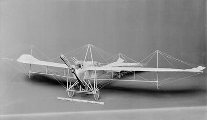 Rumpler Taube monoplane, 1908. Model (Scale
