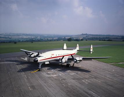 Lockheed 749 Constellation, built in September, 1947.