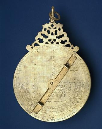 Indo-Persian bras astrolabe, 1666.