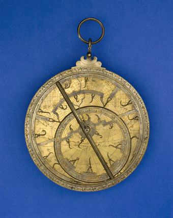 Arabian Maghribi astrolabe, 18th century.