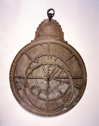 Large Hindu planispheric astrolabe, 1870.