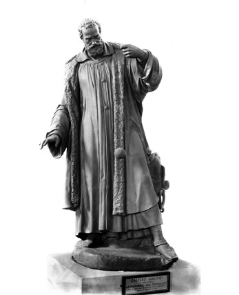 Galileo Galilei, Italian astronomer and physicist, c 1630.