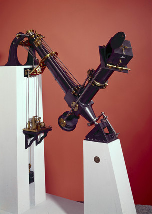 Loewy's equatorial coude telescope, 1882.