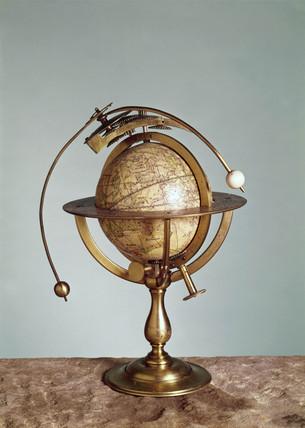 Celestial globe, 1747.