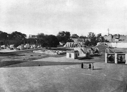 General view of Jaipur Observatory, India, 1915.