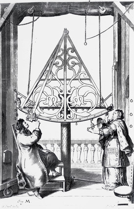 Bras sextant, c 1658-1673.