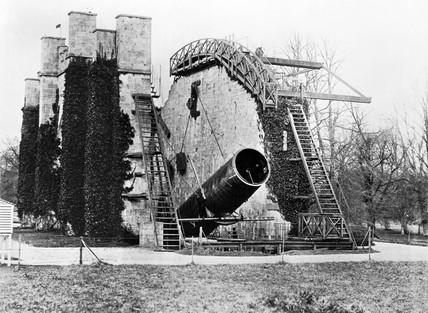 Great Rose Telescope, Birr Castle, Parsonstown, Ireland, c 1880.