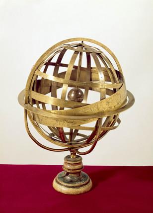 Bras armillary sphere, 1552.