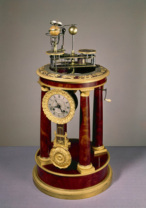 Raingo orrery clock, French, 1830-1832.