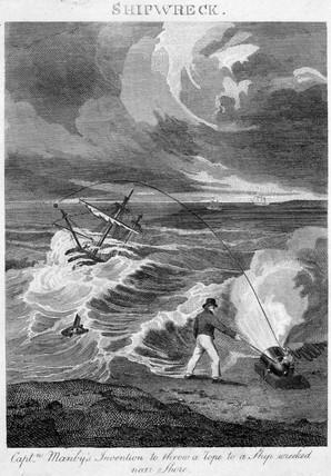 Shipwreck, c 1807.