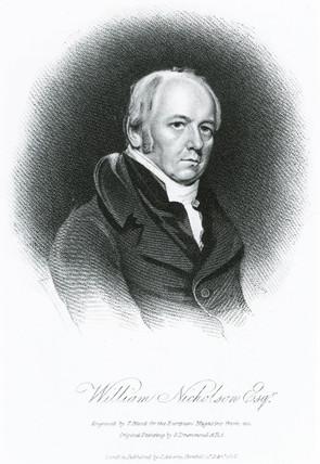 William Nicholson, English chemist, c 1812.