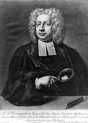 John Theophilus Desaguliers, French-born scientist and inventor, 1725.