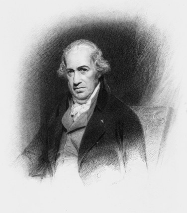 James Watt, Scottish engineer, c 1800.