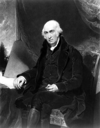 James Watt, Scottish engineer, 1815