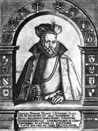 Tycho Brahe, Danish astronomer, 1586.
