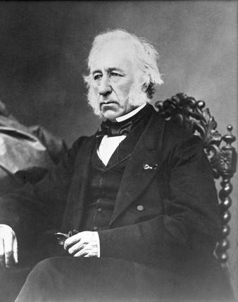 Robert Napier, Scottish shipbuilder, c 1850s.