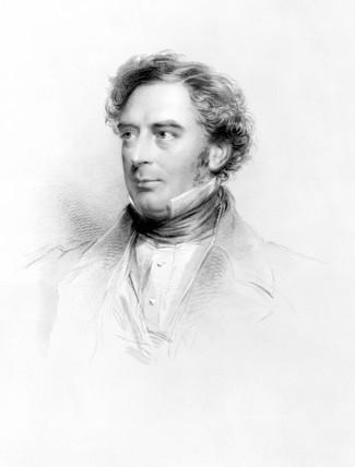 Robert Stephenson, English mechanical and structural engineer, 1860.
