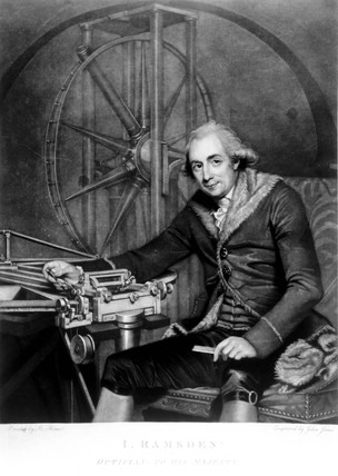 Jese Ramsden, English instrument maker, 1791.